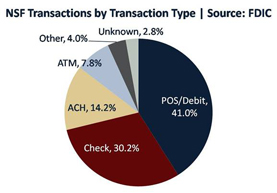 NSF Transactions By Transaction Type