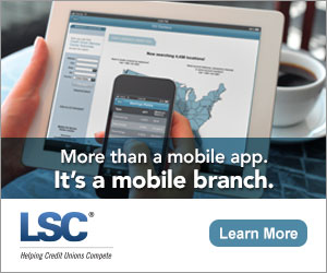 Advertisement for LSC's mobile solutions