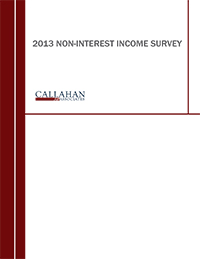 2013 Non-Interest Income Survey