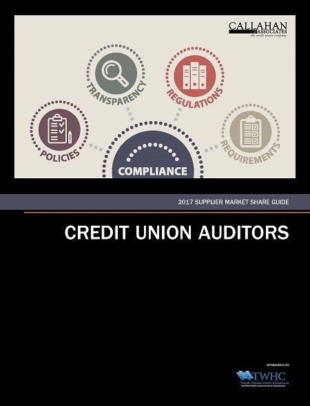 2017 Supplier Market Share Guide: Credit Union Auditors