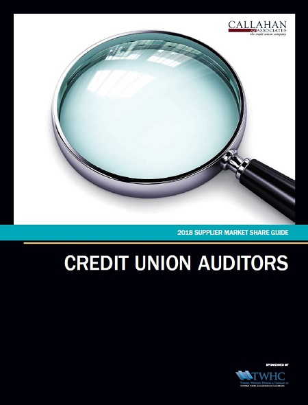 2018 Supplier Market Share Guide: Credit Union Auditors