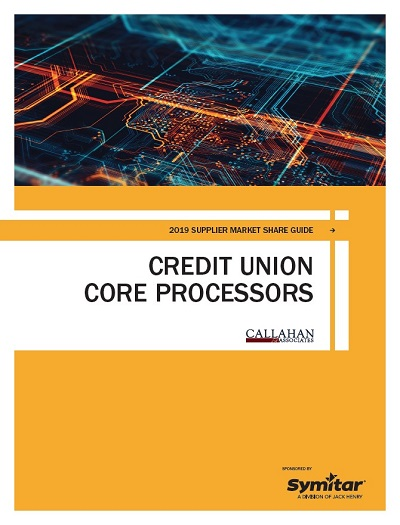 2019 Supplier Market Share Guide: Credit Union Core Processors