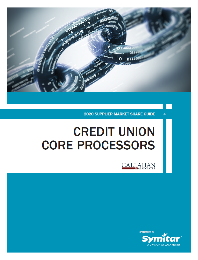 2020 Supplier Market Share Guide: Credit Union Core Processors