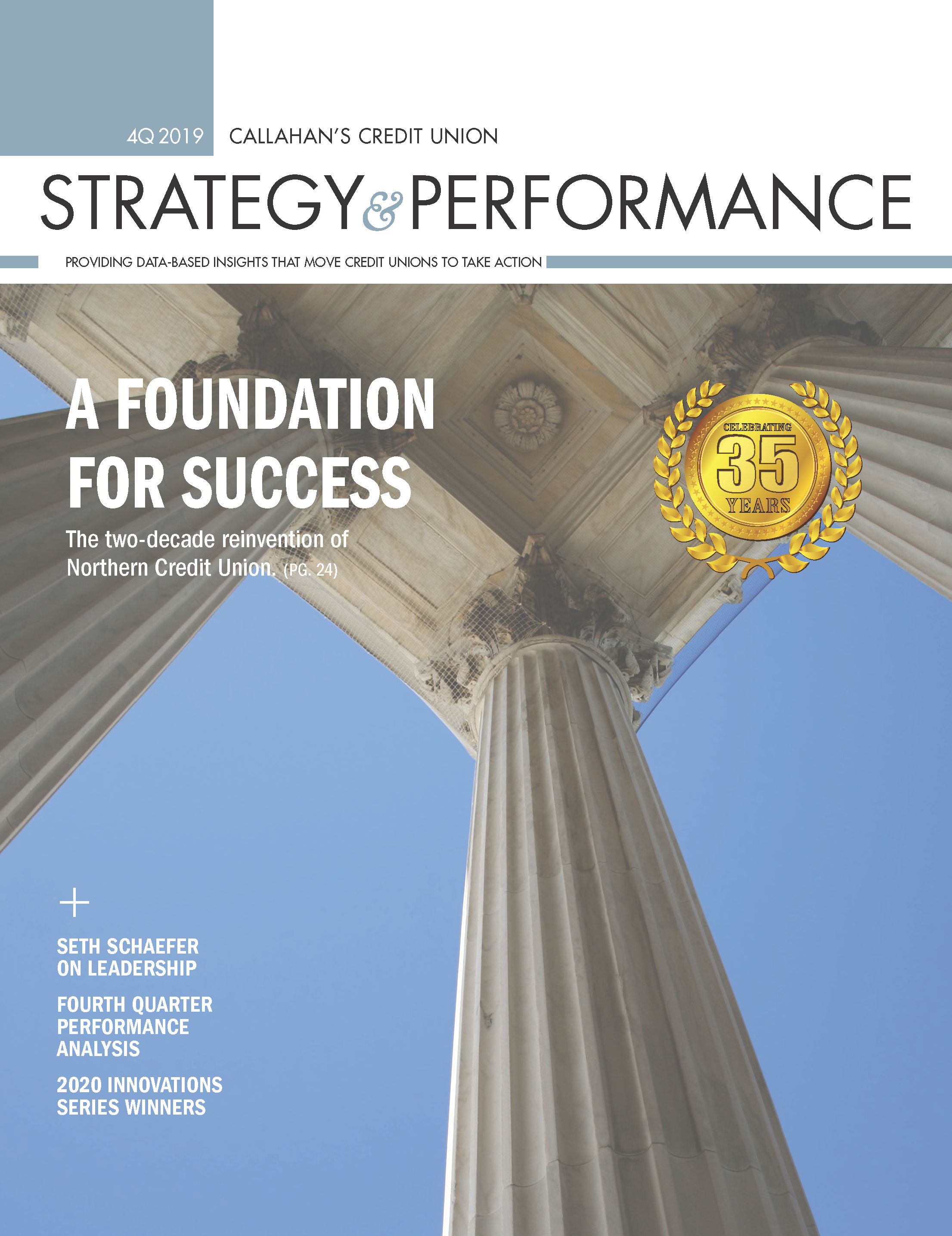 4Q 2019 Strategy & Performance