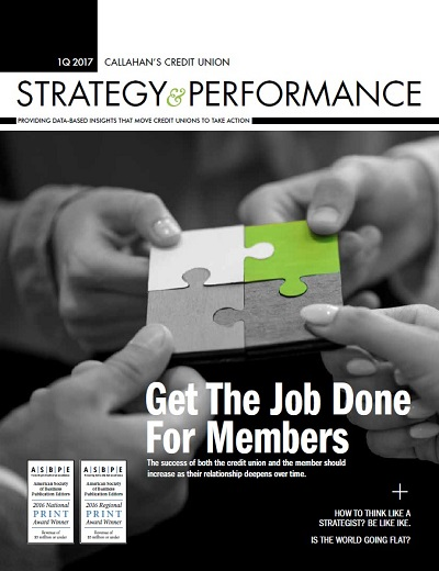 Strategy & Performance 1Q 2017 Cover