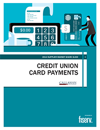 2014 Supplier Market Share Guide: Credit Union Card Payments