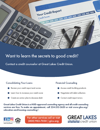 Credit Counseling Flyer