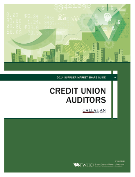 2014 Supplier Market Share Guide: Credit Union Auditors